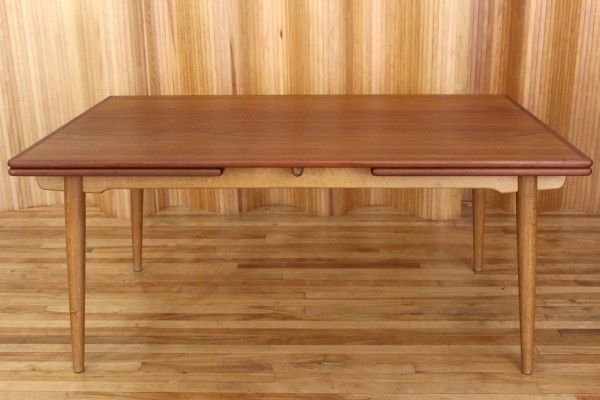 AT312 dining table by Hans Wegner for Andreas Tuck, 1950s