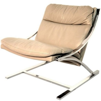 Zeta lounge chair by Paul Tuttle, 1970s