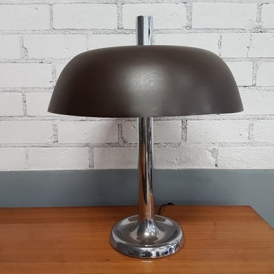 Brown Egon Hillebrand for Hillebrand desk lamp, 1960s