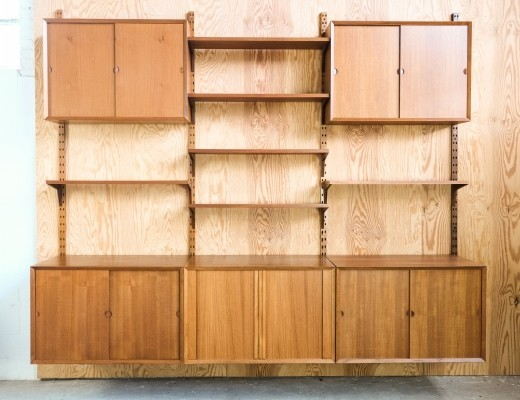 3 x wall unit by Poul Cadovius for Cado, 1960s