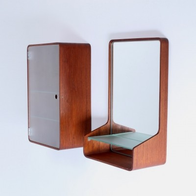 Euroika mirror by Friso Kramer for Auping, 1960s
