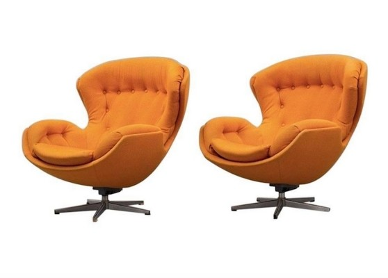 Lennart Bender Partner Swivel Chairs
