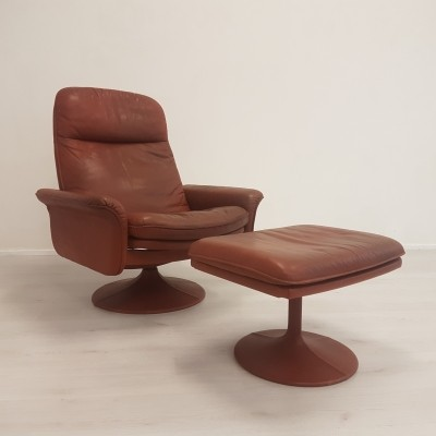 De Sede DS-50 loungechair with ottoman