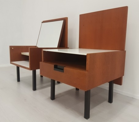 Bedside tables by Cees Braakman for Pastoe