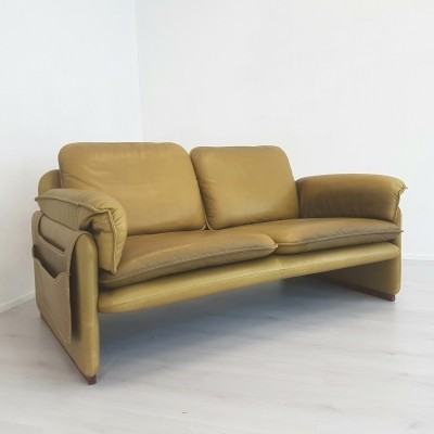 De Sede DS-61 twoseater in olive green leather