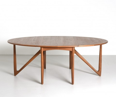 Gateleg dining table by Kurt Østervig