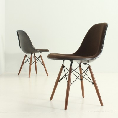 Pair of DSW Chairs by Charles & Ray Eames