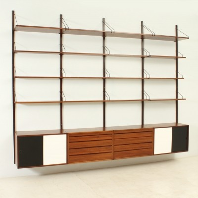 Royal System Shelving Unit by Poul Cadovius for Cado