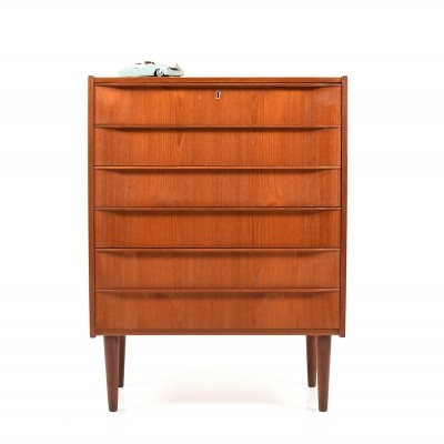 Early danish Teak Chest of Drawers