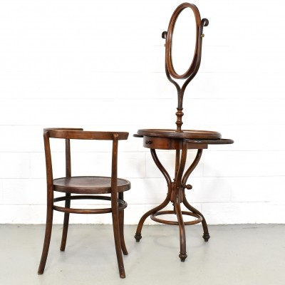Art-Nouveau dressing table from Jacob & Josef Kohn