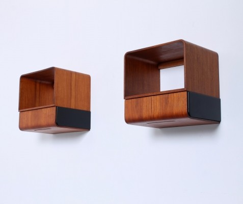 Pair of Euroika wall units by Friso Kramer for Auping, 1960s