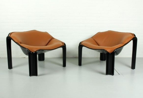 F300 lounge chairs by Pierre Paulin for Artifort