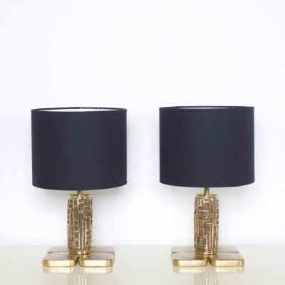 Pair of Luciano Frigerio desk lamps, 1970s