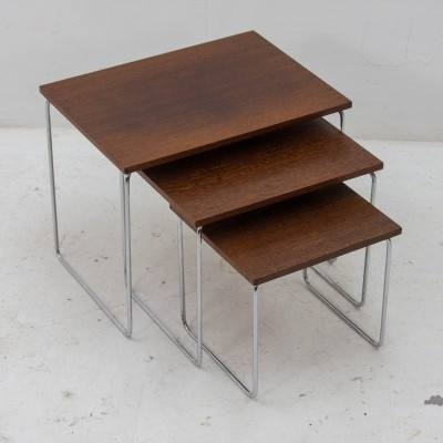 Brabantia rosewood nesting table