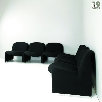 Six Alky lounge chairs by Giancarlo Piretti for Artifort