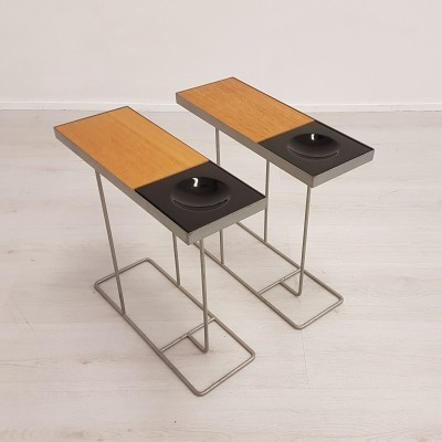 Set of Italian side tables, 1970s