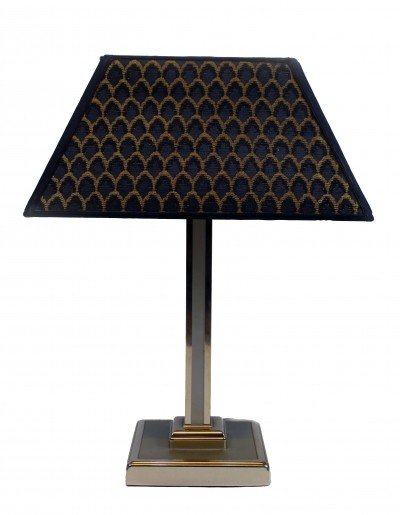 Italian Tablelamp with Chromed Base, 1970s
