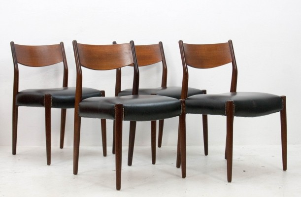 Set of 4 SA10 dinner chairs by Cees Braakman for Pastoe, 1960s