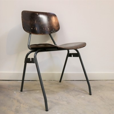 15 x dinner chair by Kho Liang Ie for CAR Industry Katwijk, 1960s