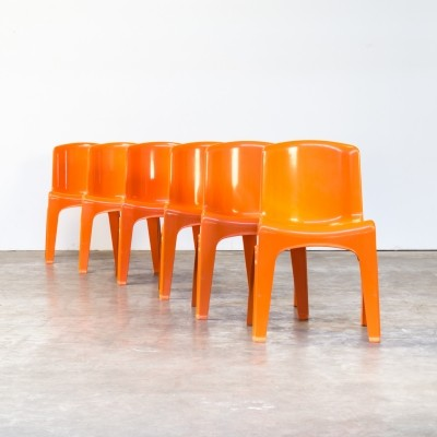 1st edition Stackable chair by Gilac Design, 1970s