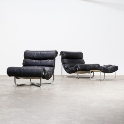 Georges van Rijck 'glasgow' lounge chairs & ottoman for Beaufort
