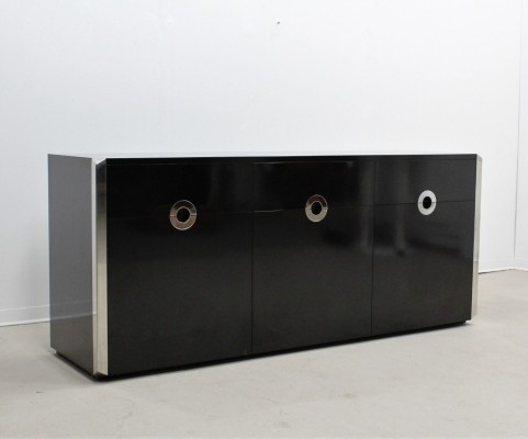Willy Rizzo sideboard for Mario Sabot, 1970s