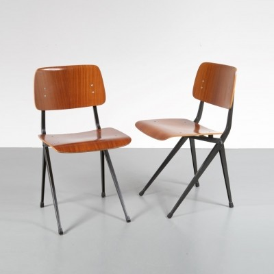 2 x Marko Holland dining chair, 1960s