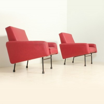 Pair of G10 Armchairs by Pierre Guariche