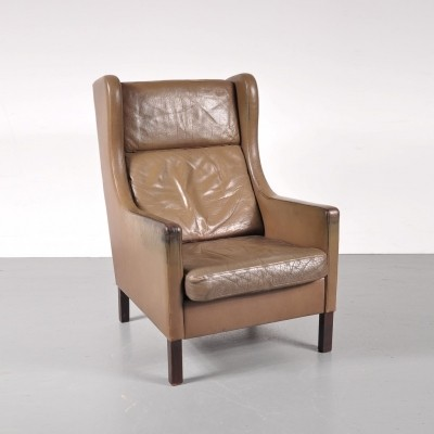 Lounge chair by Børge Mogensen for Stouby Denmark, 1960s
