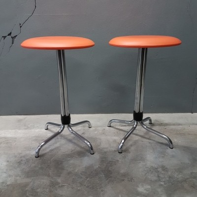 Pair of Industrial stools by Brabantia, 1960s