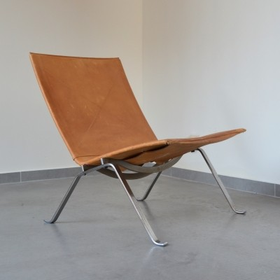 Original first edition PK22 easy chair by Poul Kjaerholm for E.K.C