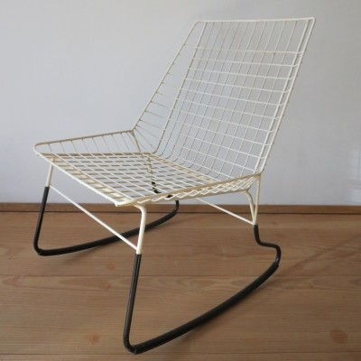 Flamingo rocking chair by Cees Braakman for Pastoe, 1950s