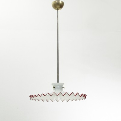 Pinocchio pendant lamp by Ludovico Diaz de Santillana for Venini, 1970s