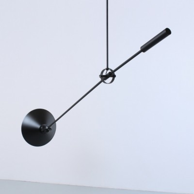 Black Anvia adjustable counter balance ceiling light