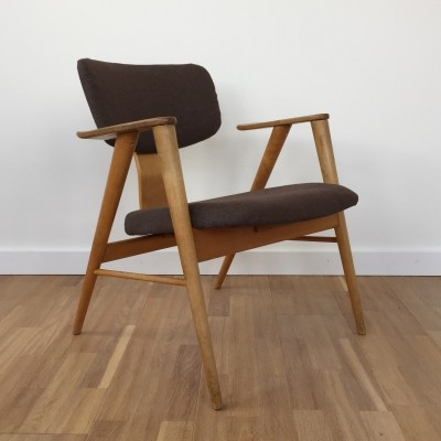 1950's Dutch design birch 'FB14 / FT14' armchair by Cees Braakman for Pastoe