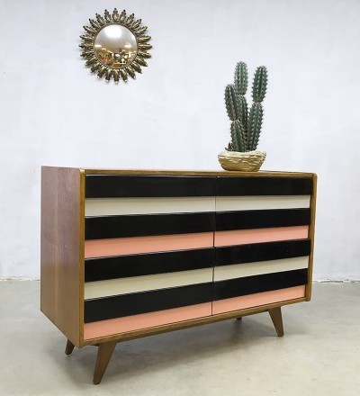Vintage sideboard cabinet model U-450 by Jiri Jiroutek for Interier Praha
