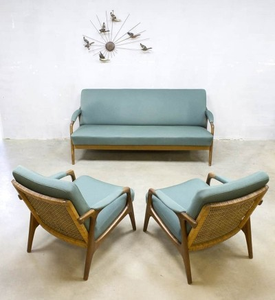 Vintage seating group, 1950s