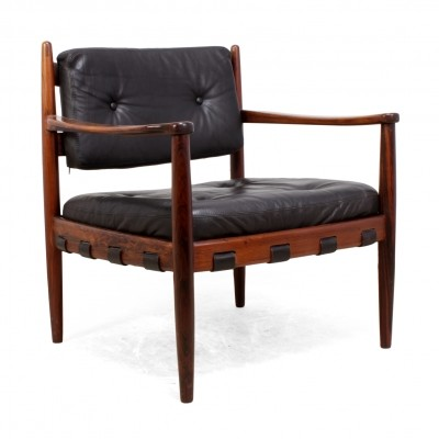 Rosewood Cadett Lounge Chair by Eric Merthen c1960