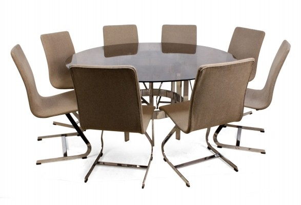 Merrow Associates Dining Table & 8 chairs