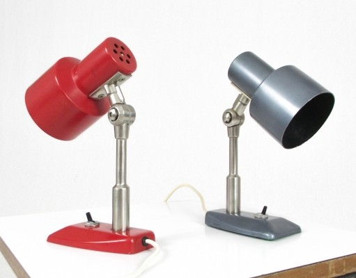 2 x Stilnovo desk lamp, 1960s