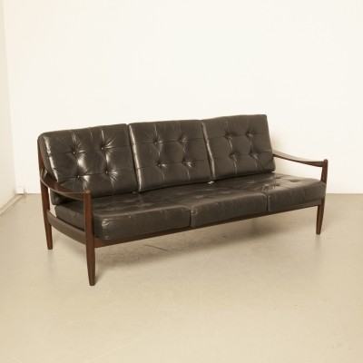Danish rosewood couch by Grete Jalk