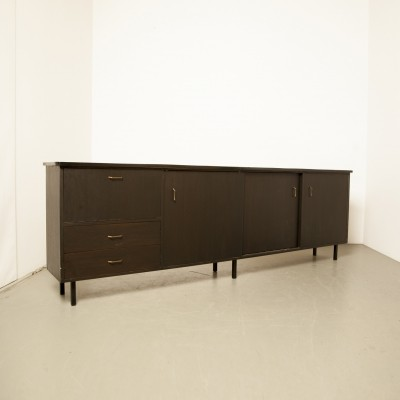 Black 1950s sideboard