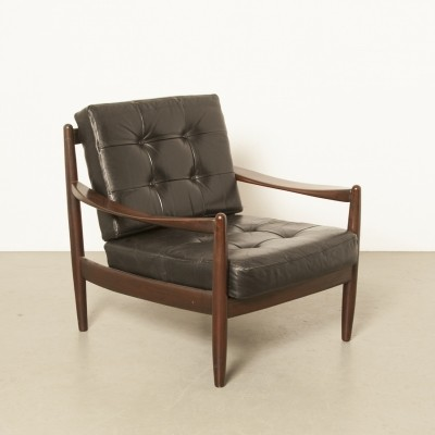 Danish rosewood armchair by Grete Jalk