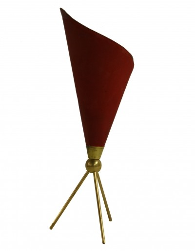 Angelo Lelli for Arredoluce Monza 'Calla' table lamp, 1950s