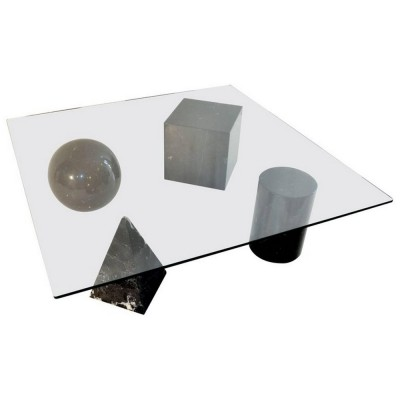 Massimo & Lella Vignelli 'Metafora' Coffee Table, Italy 1970s