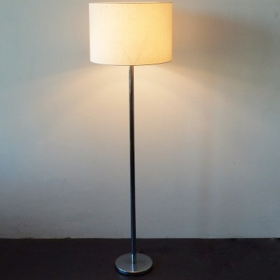 Tall 'Shantung' floor lamp by RAAK with original shade