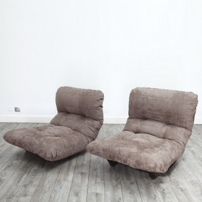 Pair of Marsala Armchairs by Michel Ducaroy for Ligne Roset