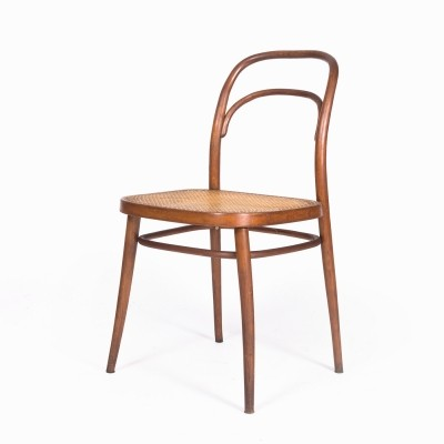 4 x 615 313 667 dining chair by Ton, 1960s