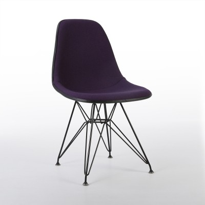 Original Herman Miller Purple Eames DSR Dining Side Chair