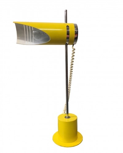 1970s Yellow table lamp